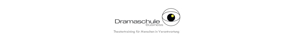 Dramaschule Business Logo